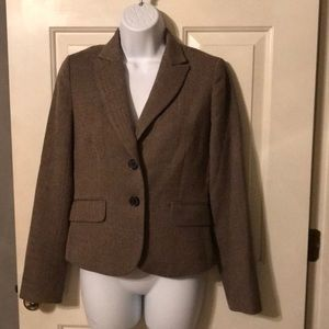 J. Crew Jacket Sz 0 Tan VGUC